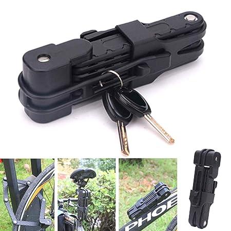 YUNB Red - Candado para Bicicleta (antirrobo, para Bicicletas de ...