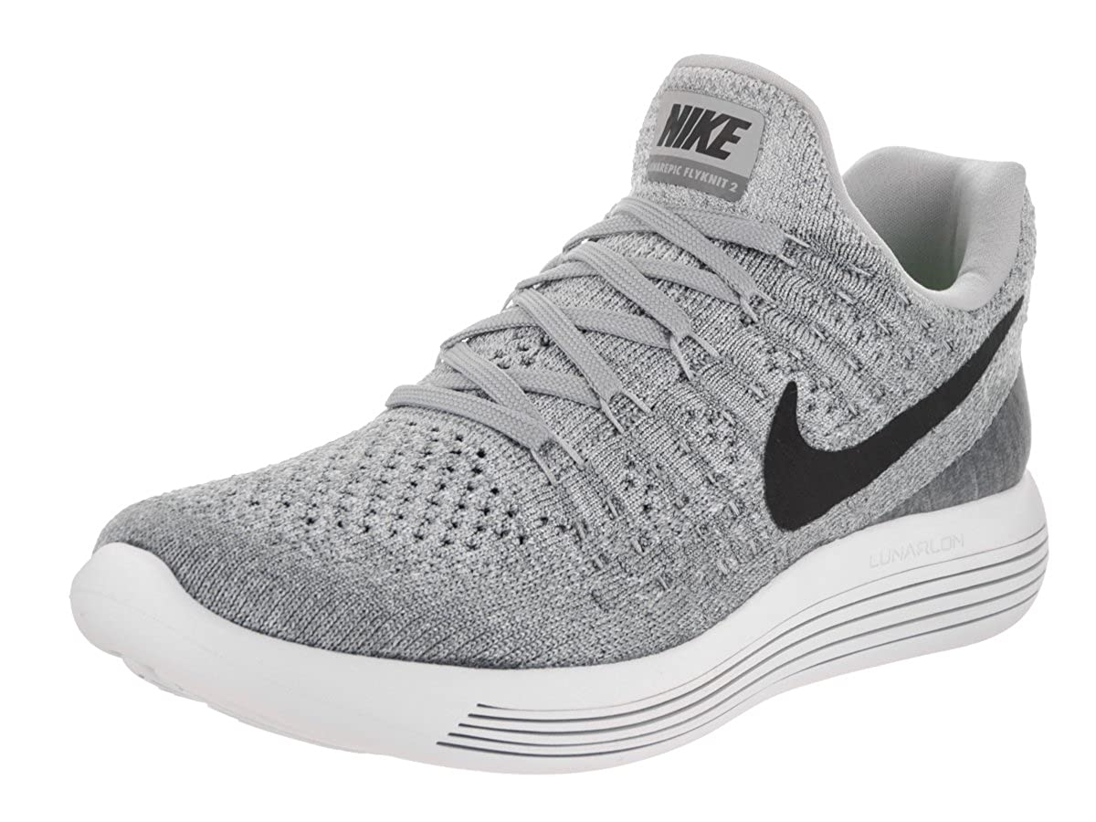 nice shoes 04117 ad028 Amazon.com   Nike Women s Lunarepic Low Flyknit 2 Running Shoe (9, Wolf Grey Cool  Grey Pure Platinum Black)   Road Running