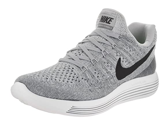 Amazon.com | Nike Womens Lunarepic Low Flyknit 2 Running Shoe (9, Wolf Grey/Cool Grey/Pure Platinum/Black) | Road Running