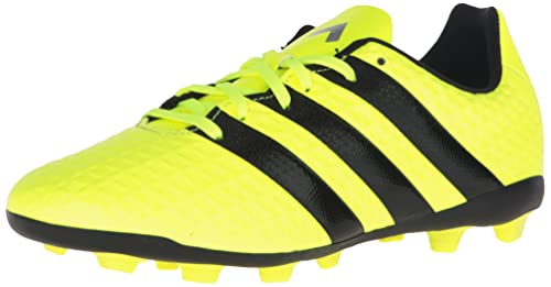 4bd44c9ef62 Adidas Ace 16.4 Kids Firm Ground Soccer Cleats 4.5 Solar  Yellow-Black-Silver Met