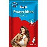 Drools Power Bites Milk Flavour, Real Chicken, Dog Treats, 135 g