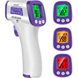 Infrared Forehead Thermometer, Non-Contact Forehead Thermometer for Adults, Kids, Baby, Accurate Instant Readings No Touch In