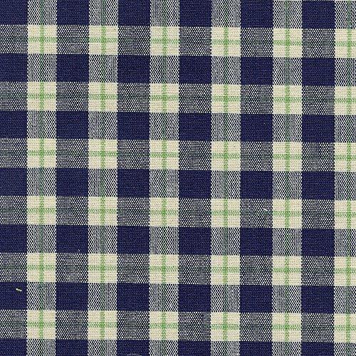 Longaberger Handle Gripper Blue Ribbon Plaid Fabric New in Bag