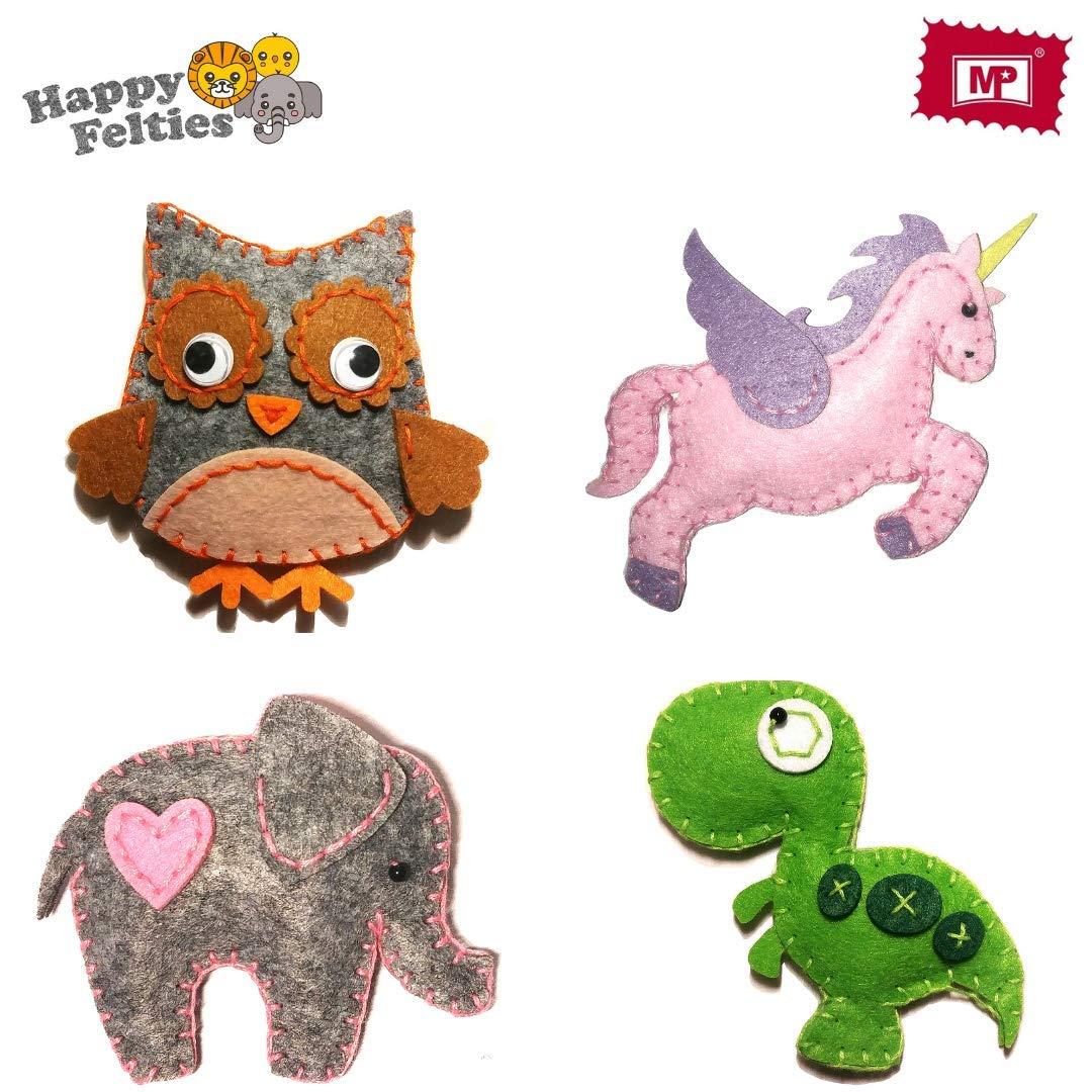 Cleververse Unicorn Plush Toy Sewing Kit For Girls Craft Stuffed