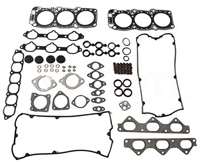 Amazon Com Head Gasket Set With Head Bolts For 91 99 Mitsubishi