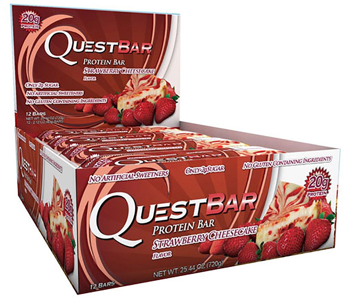 Quest Bars-Strawberry Cheesecake 24 Bars