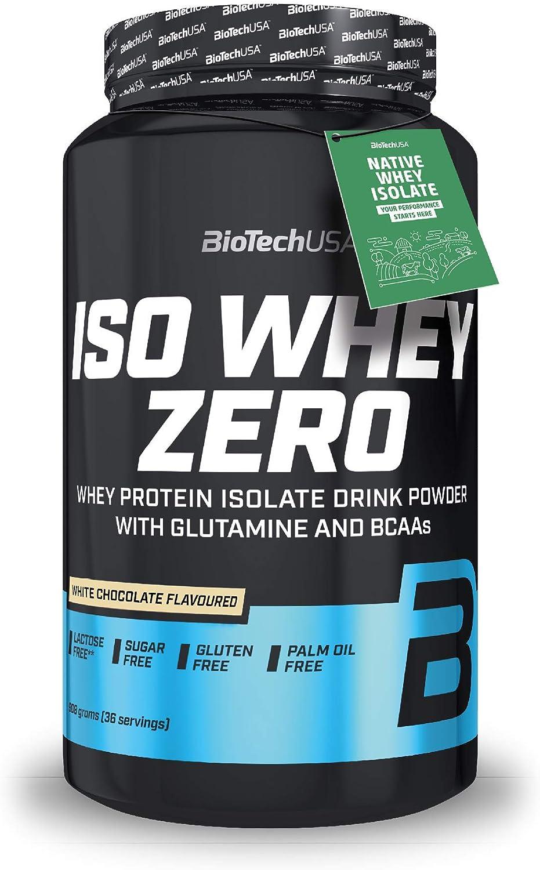 BioTechUSA Iso Whey Zero, 908 g, Chocolate blanco