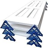 Stak Rack | 4 in 1 Painter's Accessory Tool | Stacking Design | Paint Interior or Exterior Doors, Trim & Kitchen Cabinet Door