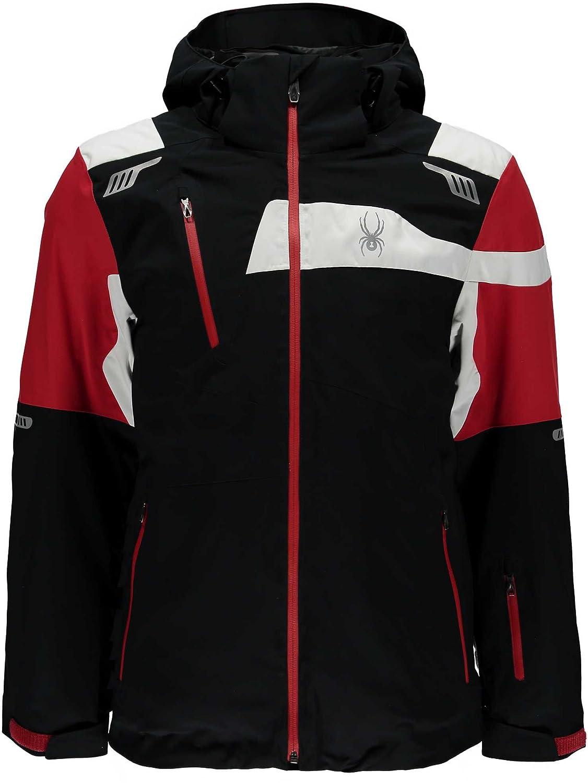 スパイダー メンズ ジャケット&ブルゾン Spyder Men's Titan Insulated Jacket [並行輸入品] B07629BS61  S
