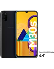 "Samsung Galaxy M30s Smartphone 64GB 6.4"" FHD+ Android 9 Pie - Deutsche Version - Schwarz [Exklusiv bei Amazon]"