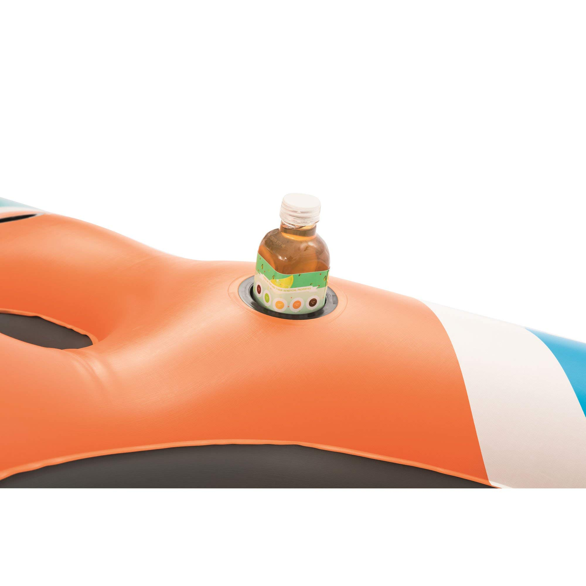 CoolerZ Rapid Rider X4 Inflatable 4-Person Island Tube by Bestway (Image #4)