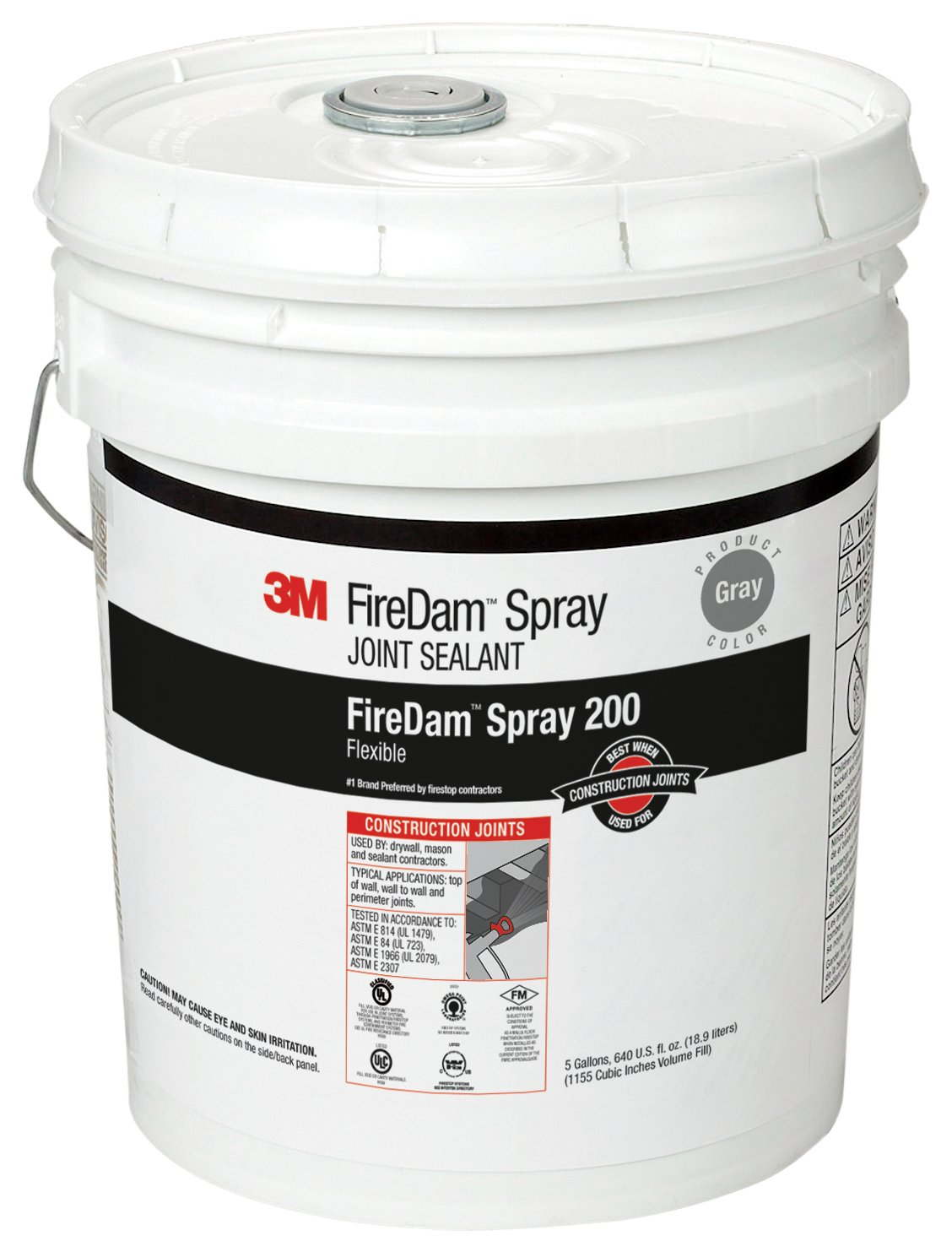 Image of Home Improvements 3M FireDam Spray 200, Gray