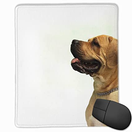 f0867ce247ba Amazon.com: Dog Mouse Mat Non-Slip Rubber Gaming Mouse Pad for ...