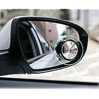 Carex WV001RCA0119 Universal Rear View Blind Spot Mirror (Set of 2)