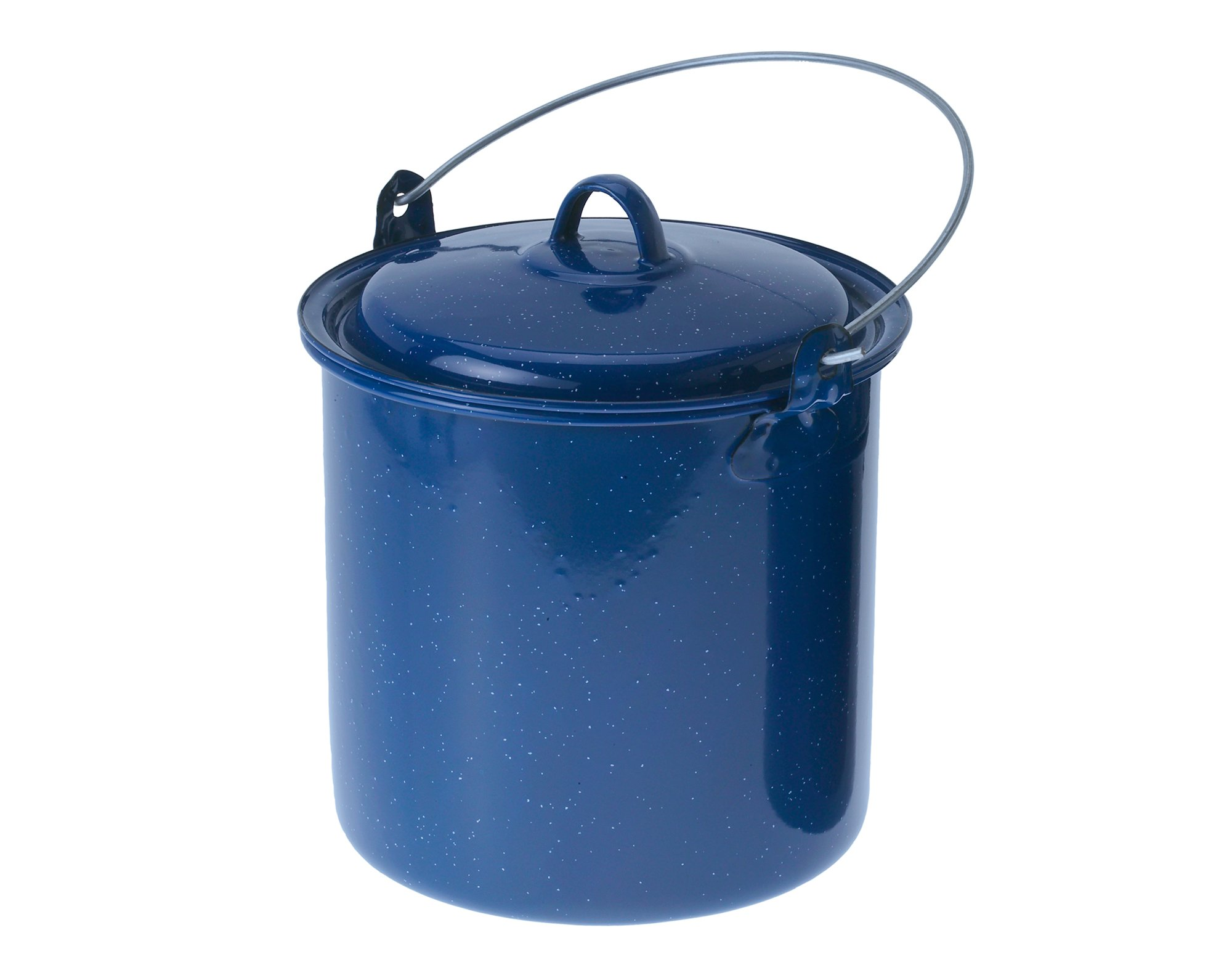 GSI Outdoors Straight Pot with Lid, Blue, 3.5-Quart