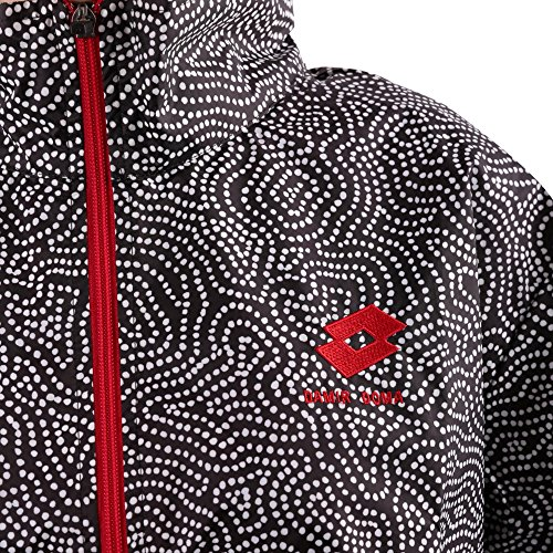 CS1W0071F1910991 LOTTO Polyester DAMIR DOMA Noir Femme Blouson X EqgIYg