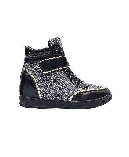 KRISP Women Hi Top Trainers Spring Fashion Sneakers  Amazon.co.uk ... 4163c9c2e
