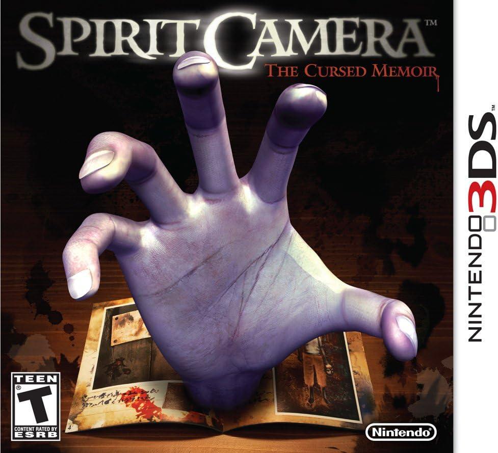 Amazon.com: Spirit Camera: The Cursed Memoir - Nintendo 3DS ...