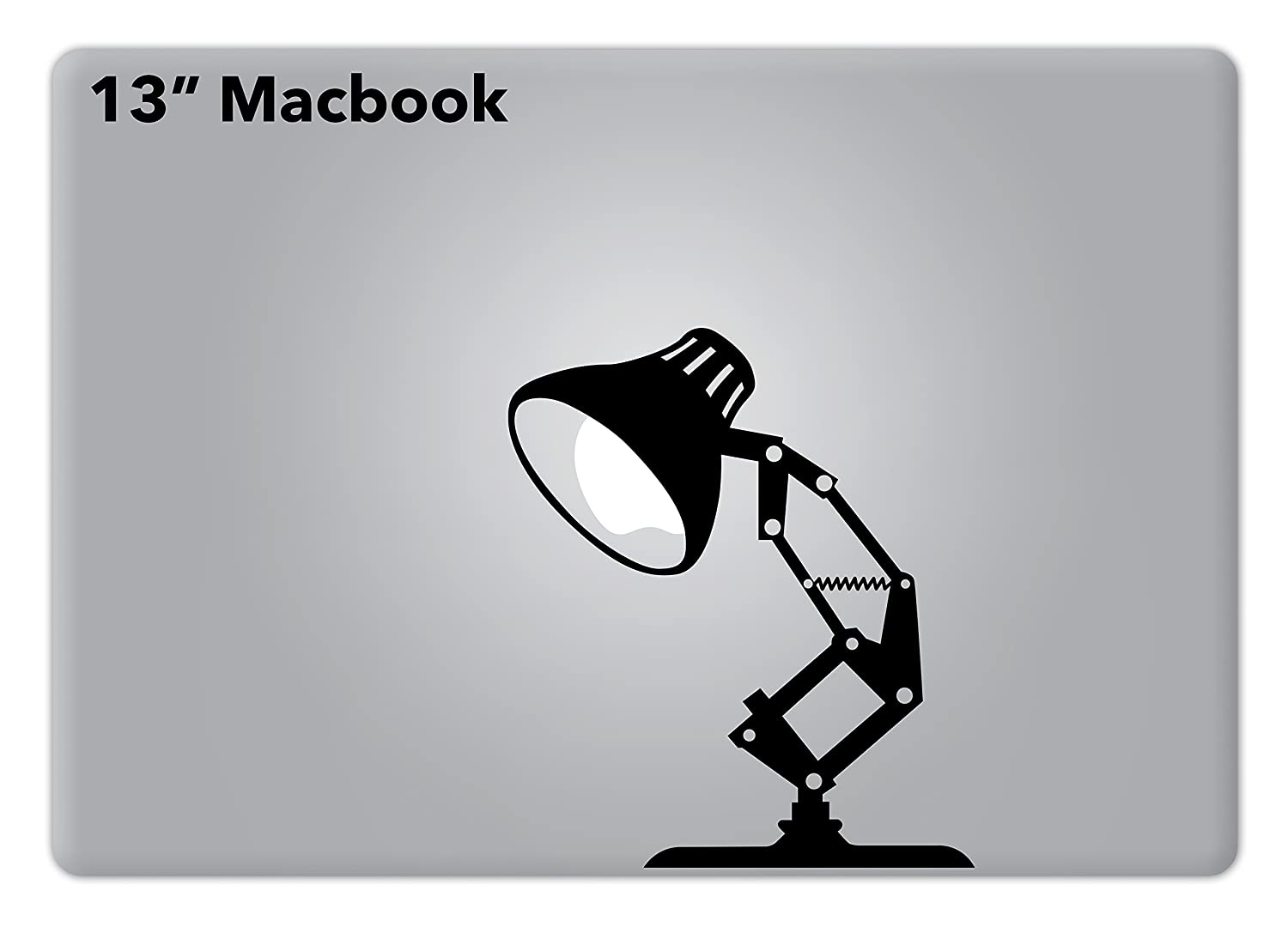 Amazon com pixar lamp disney apple macbook decal vinyl sticker apple mac air pro retina laptop sticker computers accessories
