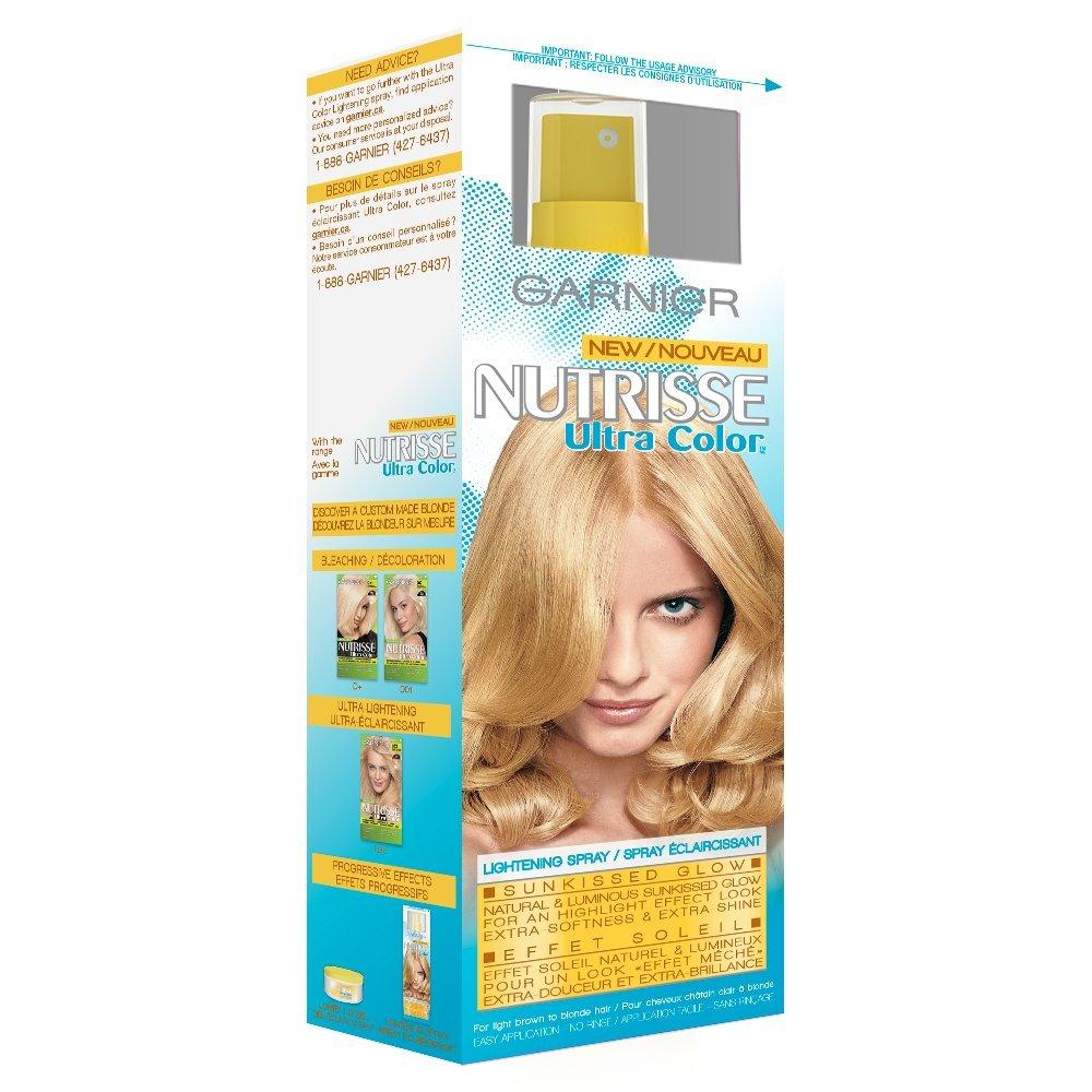 Garnier Nutrisse Ultra Hair Color Lightening Spray Sun Kissed