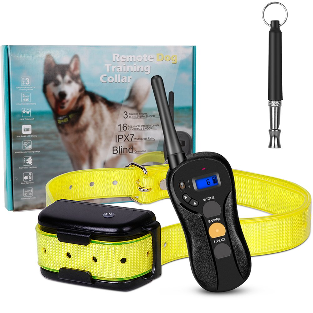 Ounuo Dog Training Collar with Remote Waterproof Blind Shock