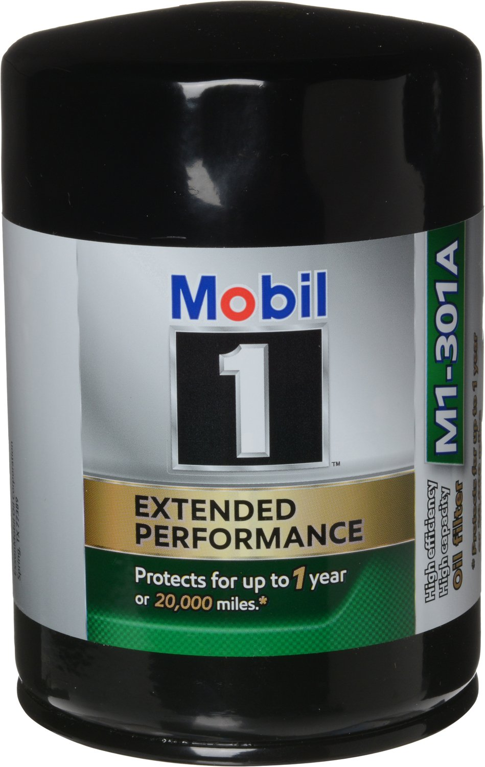 Mobil 1 M1-301A Extended Performance Oil Filter, 2 Pack, by Mobil 1