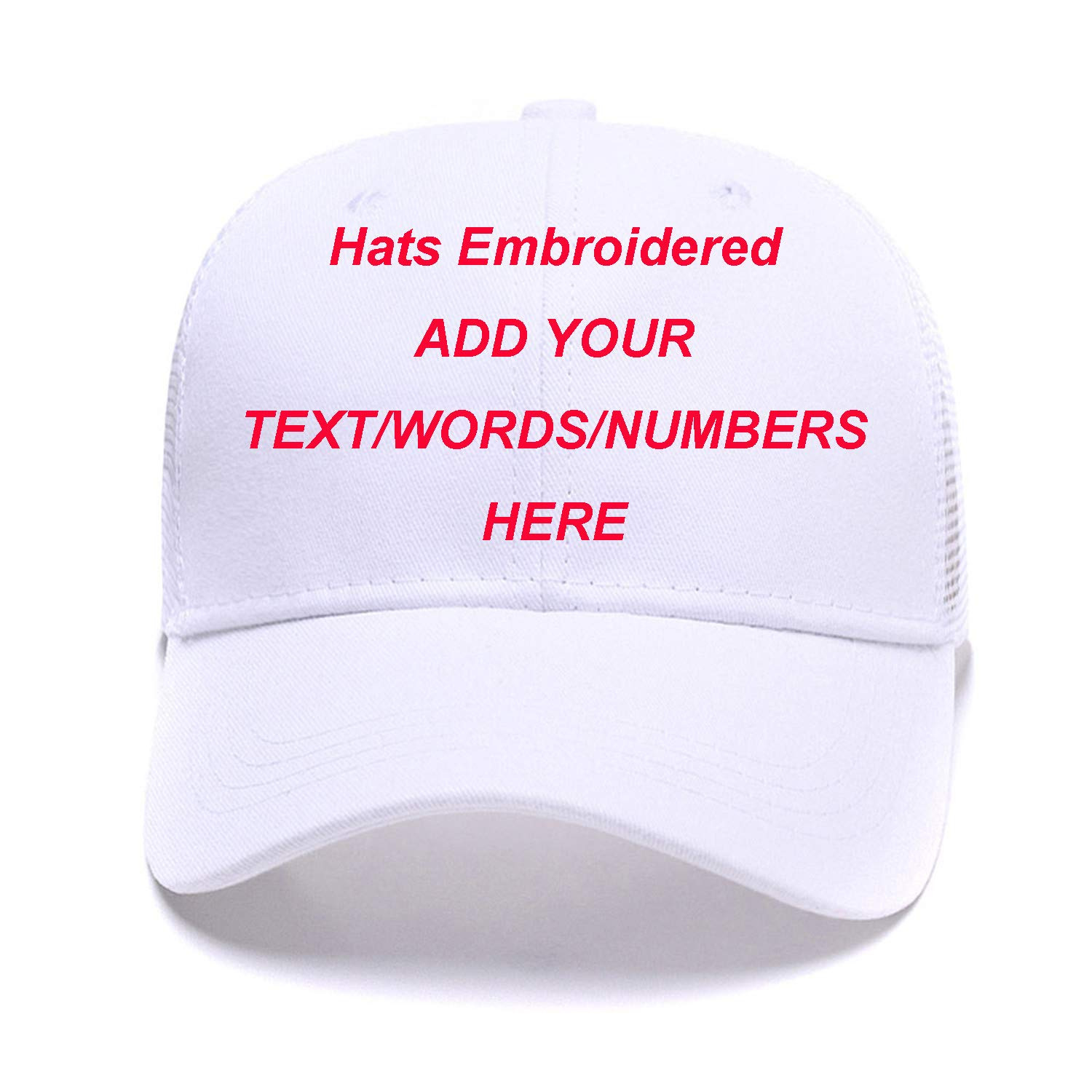 4ca77299120 Sports Outdoors Snapback Visors Custom Text Embroidered Dad Hats  Personalized Hip Hop Curved Bill Baseball Caps