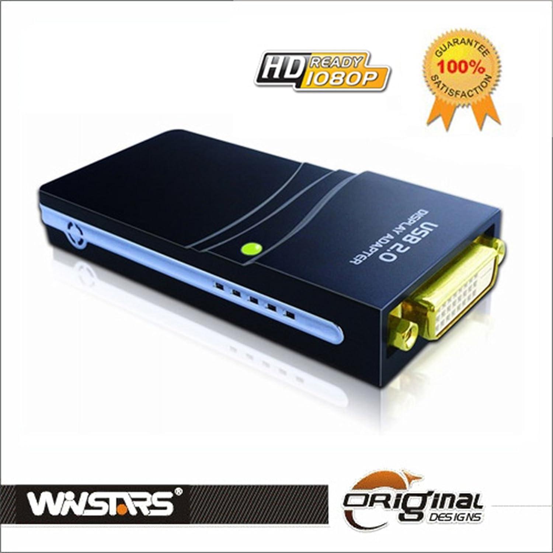 Winstars DL120 - Tarjeta de video externa USB 2.0, adaptador ...