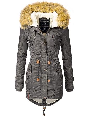 Navahoo Damen Winter Mantel Winterparka La Viva 13 Farben XS XXL