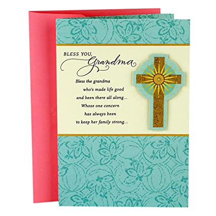 Amazon Hallmark Mahogany Mothers Day Religious Card For