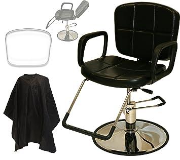 LCL Beauty Reclining Hydraulic All Purpose Cutting U0026 Shampoo Barber Salon  Chair