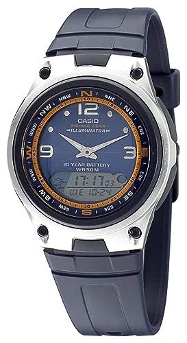 Casio AW-82-2AVES - Reloj analógico - digital de caballero de cuarzo con