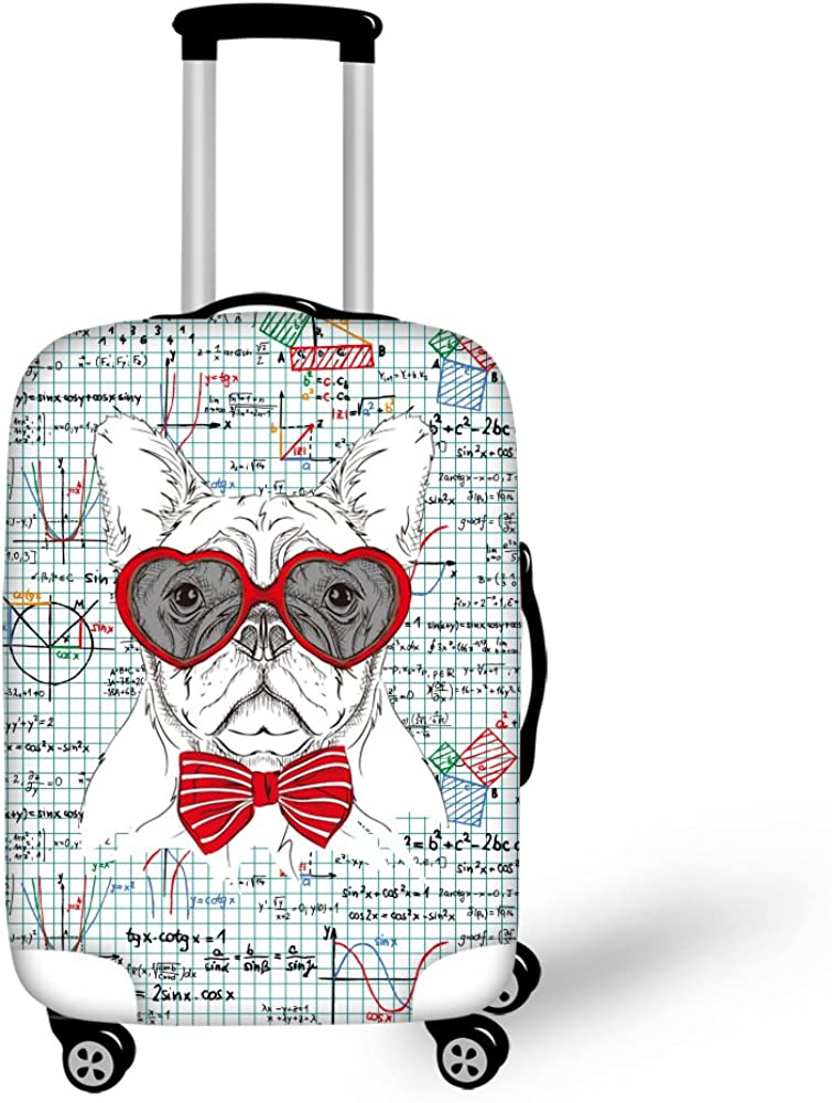 Bigcardesigns Dogs Luggage Protective Covers for 18-30 Suitcase