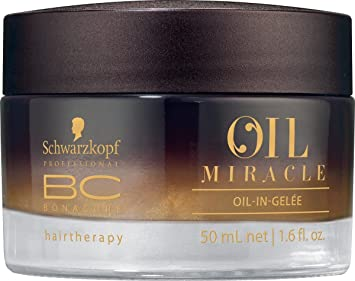 7c5b80198e Amazon.com : Schwarzkopf BC Oil Miracle Oil-In-Gelee 50ml/1.6oz : Beauty
