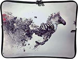 Abstract Horse 17 Inch Protective Laptop Sleeve Ultrabook Notebook Carrying Case Compatible with MacBook Pro MacBook Air Tablet Briefcase Bag