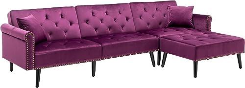 Cheap HOMEFUN Sectional Sleeper Sofa Bed living room sofa for sale