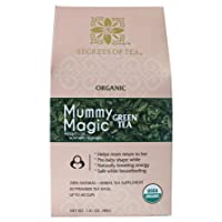 Mummy Magic Green Tea - Natural Postpartum Weight Loss Tea Safe while Breastfeeding...