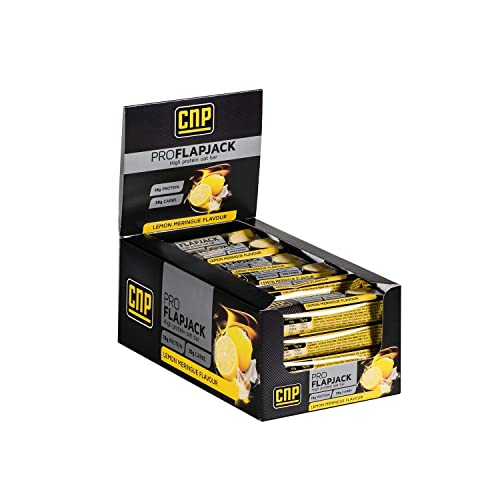 CNP Pro Flapjack - Lemon Meringue High Protein Flapjack Bars – 24 x 75g Protein Oat Bars