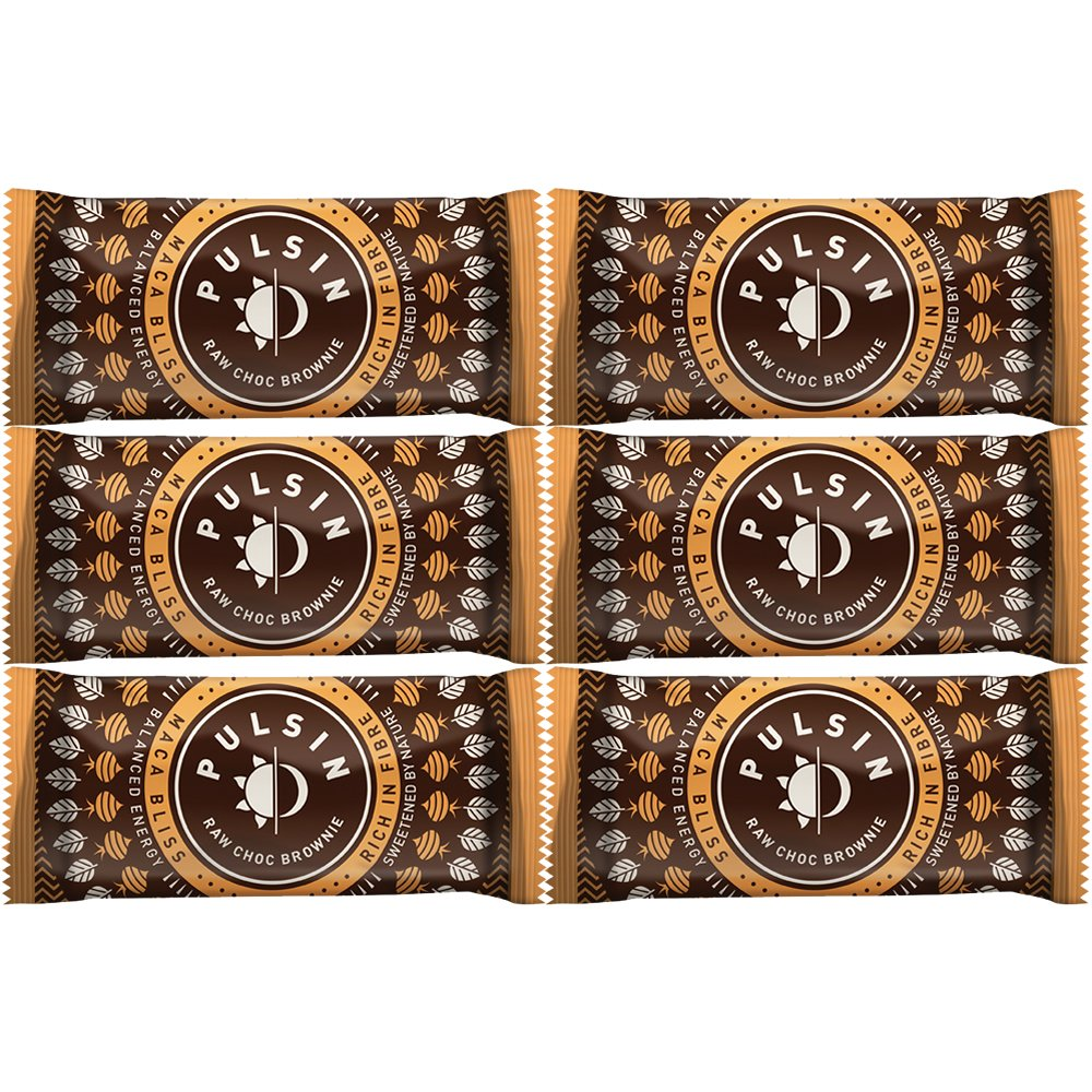 Maca Bliss Raw Choc Brownie 50g (Pulsin') Pulsin'