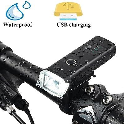 Vélo AvantLed Rechargeable Usb Lampe Dutison Puissante mn0v8wN