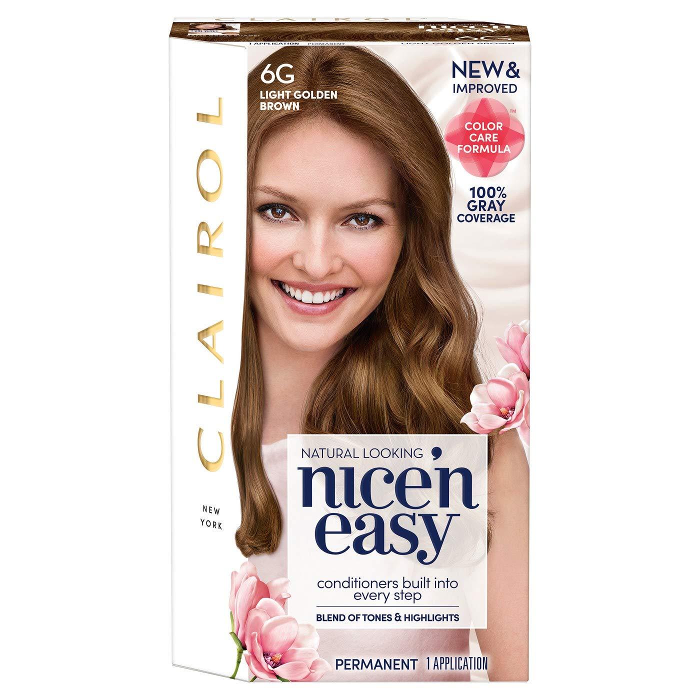Amazon Clairol Nice N Easy Permanent Hair Color Kit 5g Medium