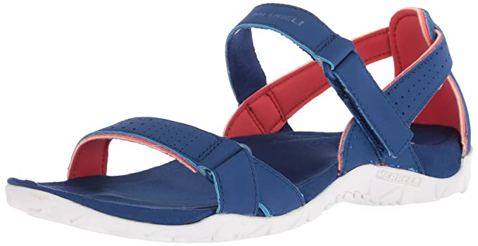 1affa2175de7 Merrell Womens Ladies Terran Ari Breathable Textile Backstrap Sandals   Amazon.co.uk  Shoes   Bags
