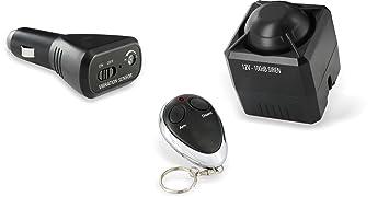 Elro CAR1 Universal Car Alarm, 100 dB, Ensor Enchufable, Set de 3 Piezas