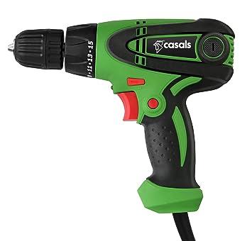 Casals C01290000 Taladro atornillador con cable, 300 W, 0 ...