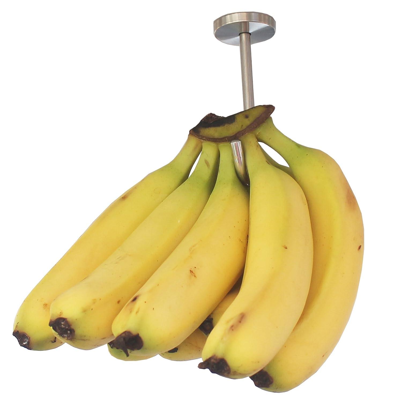Under Cabinet Hook for Bananas or Heavyweight Kitchen Items Screws Included YYST Banana Hanger Banana Hook Banana Organizer Stainless Steel Yi Ya Su