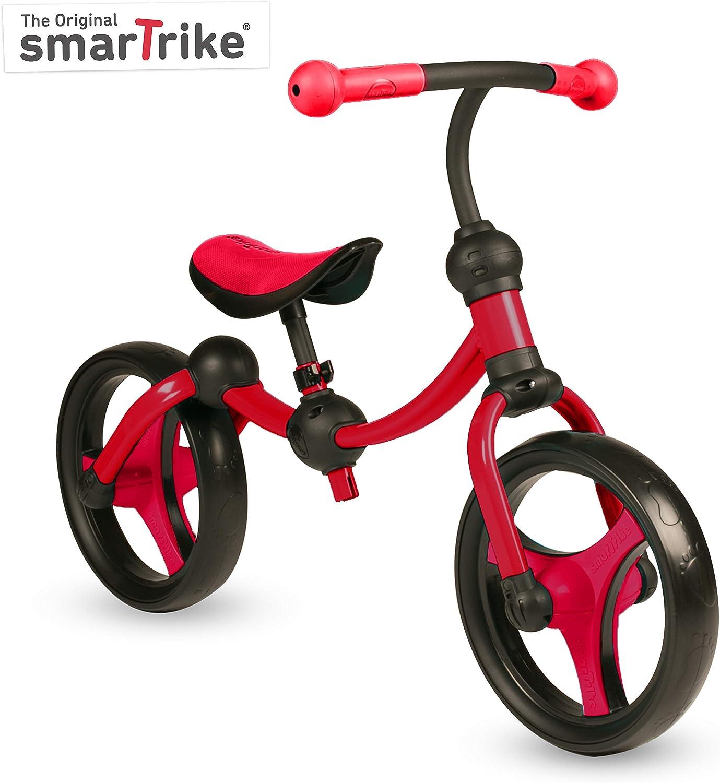 Smart Trike Laufrad 2-In-1 Rot Balancieren VOR Pedalieren F?r Kinder SmarTrike