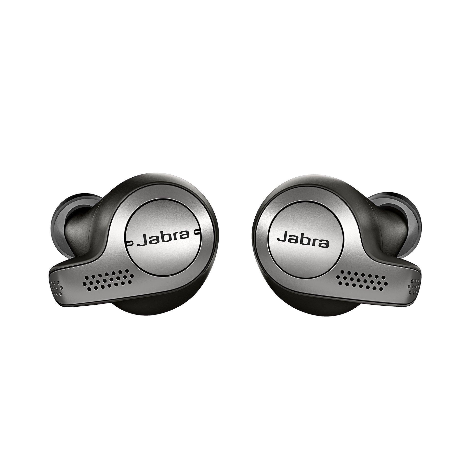ویکالا · خرید  اصل اورجینال · خرید از آمازون · Jabra Elite 65t Alexa Enabled True Wireless Earbuds Charging Case – Titanium Black wekala · ویکالا