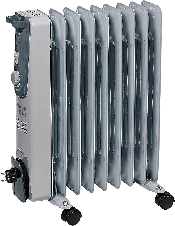 Schwarz OZAVO /Ölradiator Elektroheizung 2000W /Öl Radiatoren Thermostatsteuerung und Sicherheitsabschaltfunktion Heizk/örper elektrisch mit 9 Rippen 3 Heizstufen Heizger/äte Fahrbar
