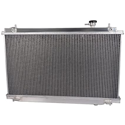 Aluminum Racing Radiator For 2003-2006 Nissan Fairlady 350Z Z33 Manual MT
