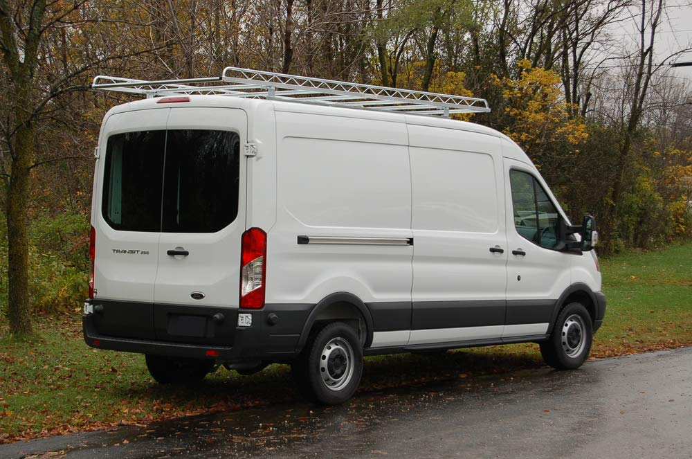 """Topper Manufacturing 10' Knock-Down Van Rack with 58"""" CROSSBARS (7) - FITS All FULLSIZE Ford Transit Vans with 130"""" WHEELBASE."""